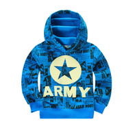 Wholesale Plus Fleece Children Hoodies Loose for Teens cm Spring Autumn Cotton Hoody Kids Clothes Casual Boys Sweater Retail