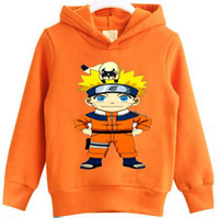 Wholesale Retail Clothes New Spring Fashion Unisex Japanese Naruto Hoodies Sweatshirts For Boys Girls Casual Cartoon Hooded Tracksuit