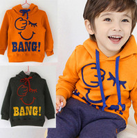 Wholesale NEW boys autumn amp winter sweater pc kids hoodie design winter wear with letter print C033