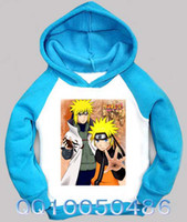 Wholesale Retail Clothes New Spring Fashion Japanese Naruto Fleece Hoodies Sweatshirts For Kids Teenagers Cartoon Hooded Tracksuit