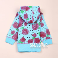 china star - Promotion New Children Hoodies Winter Outerwear Baby Girl Clothing Polka Dot Manufacturers China SMA STAR SMAL10046