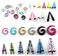 Wholesale body Jewelry Expander Taper mm Plug Ear Stretching Kits Piercings Body Jewelry