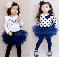 beautiful girls in skirts - Models Girls TuTu Dress Fashionable amp Beautiful Lovely Suit long sleeve shirt skirt In Stock FreeShipping