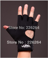 Cheap 2015 Limited Hot Sale Tourmaline Silk Magnets Health Magnetic Therapy Kneepads Airsoft Training Gloves Large Black Wrist Al102