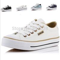 Wholesale Womans casual shoes sneakers women platform summer floral canvas shoes for women sports shoes woman Flats lace up