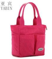 Wholesale L0006 Eco Friendly Designer Diaper Bags Baby Maternity Bags Organizer Small Women Handbag Brand