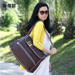 Wholesale New Arrival Fashion Baby Diaper Bag Special Cute Cartoon Mommy Bag D Nylon Nappy Bags