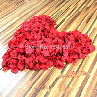 Wholesale New arrival Silk Rose Flower Petals Leaves Wedding Table Decorations Flowers Event amp Party Supplies Multi Color Wreaths