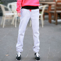 Wholesale Baggy Pants For Women Choose Elastic Waist Loose Big Size Thick Warm Cotton Trousers Winter Casual All Match Sweat Pant