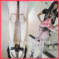 ball joint dolls - New Design Fashion Harajuku Girl Women Doll Ball Joint Stockings Tattoo Print Pantyhose Tights