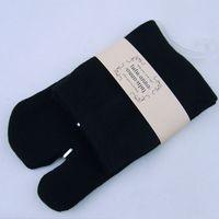 bamboo flip flops - Men Women Tabi Socks Split Two Toe Japanese Kimono Geta Flip Flop Bamboo Fiber
