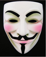 Wholesale V for Vendetta party Halloween Mask Super Scary Horror masks V for Vendetta
