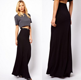High Waist Full Length Skirt Online | High Waist Full Length Skirt ...
