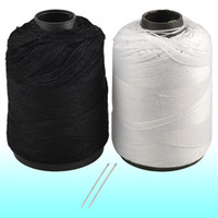 Wholesale Home White Black Cotton Stitching Sewing Thread Reel Line String