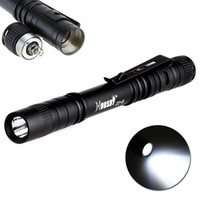Wholesale High Bright cm Mini AAA CREE LED Flashlight Pocket Torch Light LM Switch Mode H12081
