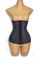 Wholesale Latex Waist Cincher High elastic rubber corset High elastichigh calorie waist training bustier