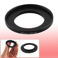 camera filter lens adapter - Camera Lens Filter Step Up Ring mm to mm Adapter Black