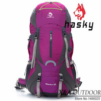 Wholesale Hasky L Outdoor Climbing Tour Riding Backpack for Men and Women with Rainproof Cover Bags New Outdoor Hiking Camping Bags
