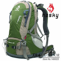 Wholesale Hasky Hot L Waterproof Women Men Travel Backpack Outdoor Camping Mochilas Climbing Hiking Sport Rucksack Freepost