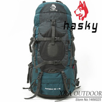Wholesale Hasky L High quality Professional Outdoor Camping Backpack Large Capacity Double shoulder Hiking Men Nylon kippling Bag