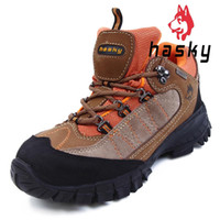 Wholesale Hasky Women Waterproof Antiskid Hiking Shoes Outdoor Athletic Shoe Female Breathable Mountaineering Boots Freepost HK