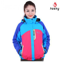 nylon windbreaker jacket - Hasky Windbreaker Women Jacket Nylon High Quality Ski Mountaineering Two piece Female Mammoth Women Hiking Jackets CY