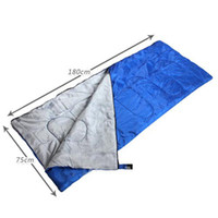 Wholesale Hasky Cheap Envelope Hollow Cotton Spliced Couple Sleeping Bag Spring Summer Adult Ultra light Sleeping Bags Free post CY