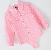 Cheap Wholesale-Girls Children's Clothes Autumn 2015 Korean version Children's Princess Long-sleeved Shirt Cartoon Cute Cardigan Girls