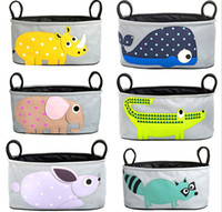 stroller baby - Maternity Pouch Animal Baby Strollers Newborn Nappy Mummy Bag Stroller Accessories Carriage Pram Buggy Cart Bottle Diaper Bag