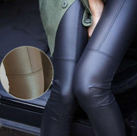 Cheap New 2014 fashion Faux Leather Leggings for women Lady leggins pants New sexy Fashion 2014 wholesale free shipping