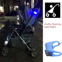 Wholesale 5pcs Night Silicone Caution Lamp For Baby Stroller Light Outside At Night Safety Stroller Accessories