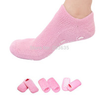 Wholesale spa socks for feet moisturizing gel spa socks drop shipping