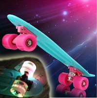 penny skateboard - 2014 Pastel Color Penny Board quot Penny Skateboard board Boy Girl Retro Cruiser skate board skateboard complete