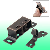 Wholesale Copper Tone Cabinet Closet Door Double Ball Latch Catch quot