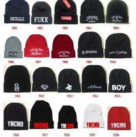 homies - Winter Warm Hip Pop Knit Homies Compton Fukk Bieber Illest Beanie Hat for Men and Women Basketball Skully Winter Cap