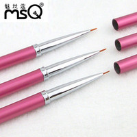 copper nail - copper needle professional nail art brushes pen tools kits for nail art design and nail drawing painting