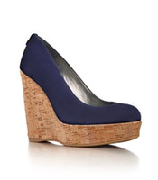 Wholesale Olympic Kate Middleton Style Genuine Leather wedges shoes with shallow mouth