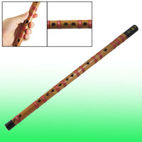 Wholesale 18 Inch Long Music Instrument Soprano F Chinese Dizi Bamboo Flute