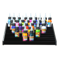 counter display - Black Acrylic Tattoo Ink Display Stand tier Rack Organizer Table Counter
