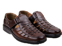 Wholesale new fashion cow muscle genuine leather summer shoes summer spring shoes for men