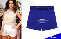 Cheap Wholesale-2015 summer new European style high waist shorts ,Floral retro fashion casual shorts totem diamond print palazzo pants
