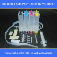 air filter cartridge - DIY Universal Continuous Ink System CISS kit with accessories syringe air filter etc without cartridges