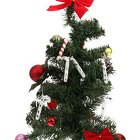 Wholesale Festival Party Decor Tree Hanging Decoration New Year Enfeites De Natal Christmas Candy Cane Ornaments Set H13621