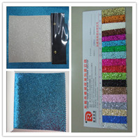 glitter wallpaper - 11m Cheap High Quality PU chunky glitter wallpaper