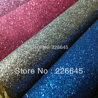 Wholesale 5 meter Chinese PU glitter fabric for wallpaper and wedding carpet