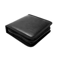 cd carrying case - Portable Rectangle CD Carrying Storage Case Bag Holder Black