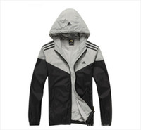 Wholesale New Men s Basketball Hoody Clothes Windrunner High Quality Brand Jacket Autumn Softshell Waterproof Jogging Men Sports