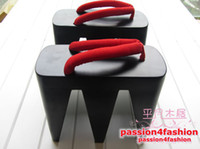 Wholesale Wooden Clogs High Heel CM Platform Unique Japanese Geta Sandals Flip Flops Slippers Cosplay Unisex