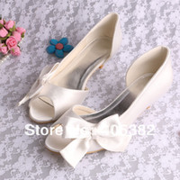 made in china shoes - Colors Comfortable Design Bride Wedding Shoes Ivory Woman Made in China Size