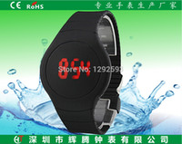 pvc manufacturers - Shenzhen China environmental digital readout electronics manufacturers ultra thin touch screen LED watch watches PVC material